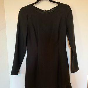 Long Sleeve Black Banana Republic Dress